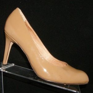 Corso Como 'Del' brown all leather pumps heels 9M